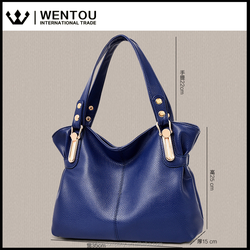 Wentou Women PU Leather Shoulder Handbag Tote Bag