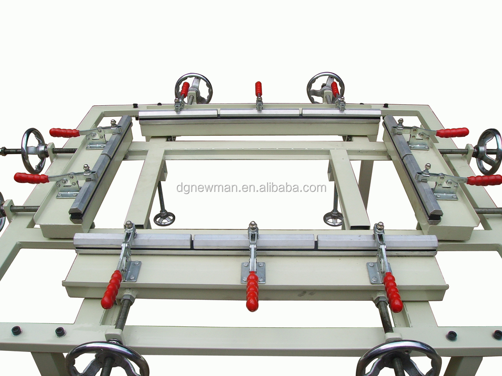 "120*150cm 48""*60"" Manual Screen Stretcher Mesh Stretching Silk Screen Printing Equipments"