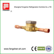 brass threaded sight glass refrigeration part