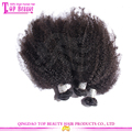 100% Virgin brazilian afro kinky hair extensions grade 7a brazilian afro human hair