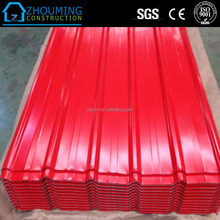 Lowest price enamel coated steel sheet for walling and roofing prefabricated house