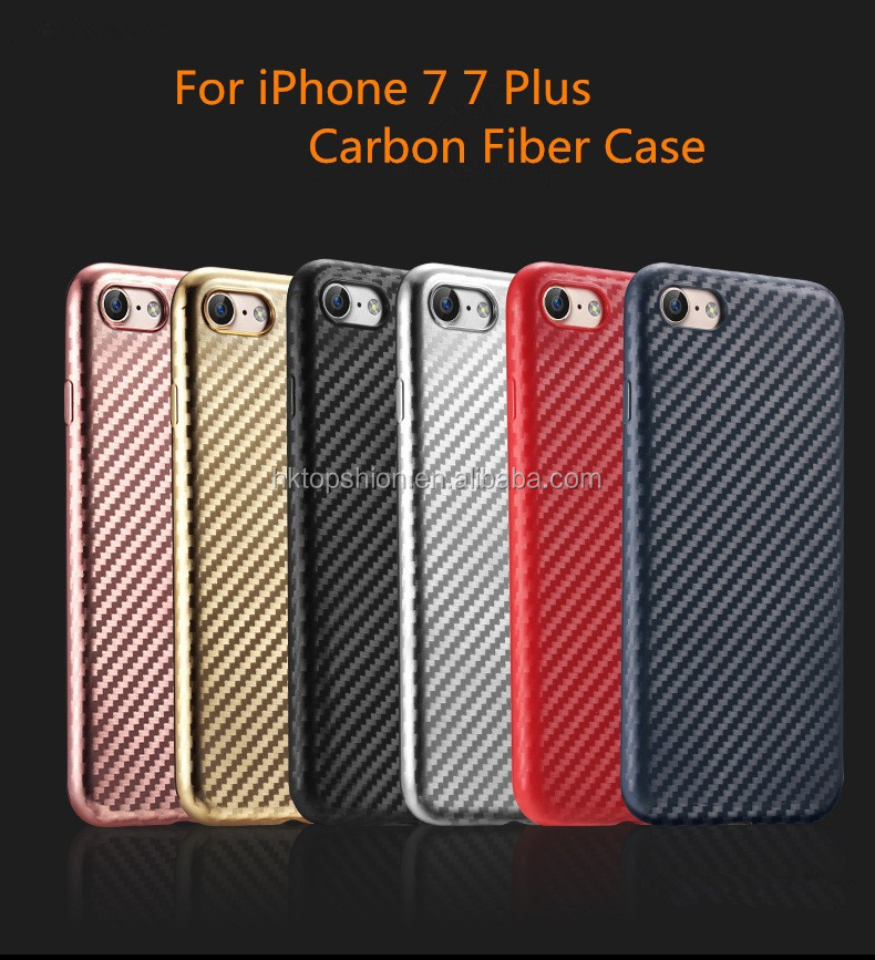NEW products shockproof for iphone 7 carbon fiber case covers super slim soft case