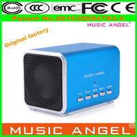 Original Music Angel JH-MD05 gifts for blind vibration speaker with suction cup mini cube
