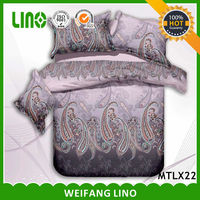 3d printed bedding set/covered bed 3d/indian style bedding sets