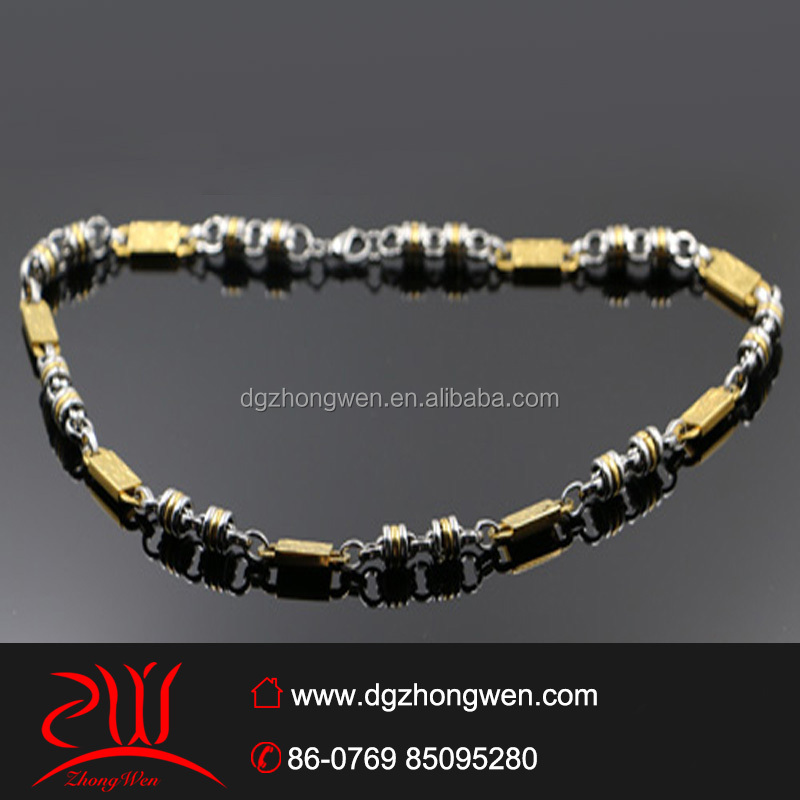 fashion jewelry magnetic wholesale gold necklace designs