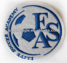 Felt appliques with heat-cut border heat seal backing excellent quality