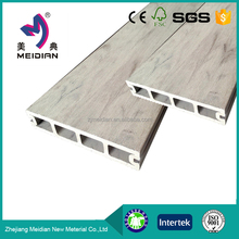 Good process tongue groove tile flooring wood plastic decking