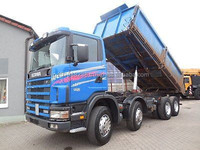 USED TRUCKS - SCANIA 114C 380-8X4 8X4 TIPPER (LHD 2833)