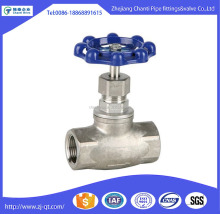 Stainless steel NPT Female threaded type globe valve drawing