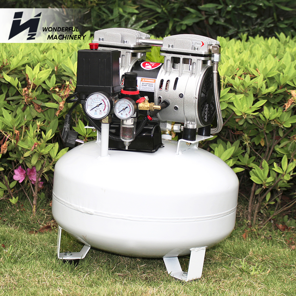 Factory cheap 8 bar silent medical dental air compressor for sale