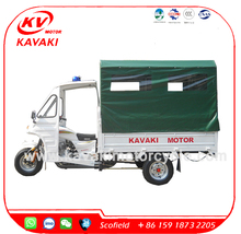Hospital 2.1m box 250CC zongshen Engine Passenger three wheel motorcycle for medical treatment Ambulance