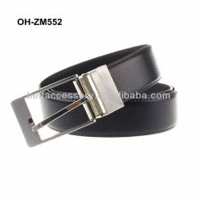 Mens genuine spanish leather belt embossed