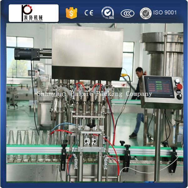 products liquid capping machine bottle liquid filling machine