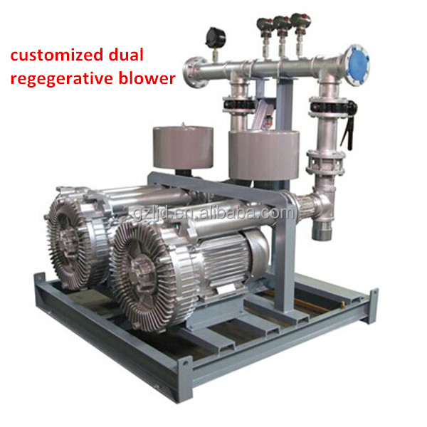 7.5KW suct and blow vortex pump