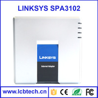 Unlocked Linksys voip adapter SPA 3102 Voice home Gateway with wireless Router