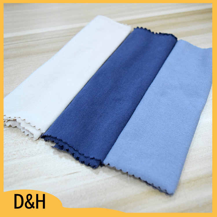 dark color single jersey wholesale cotton knit fabric for robe