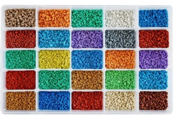 Colored EPDM granule in various size and colors for sports surfaces