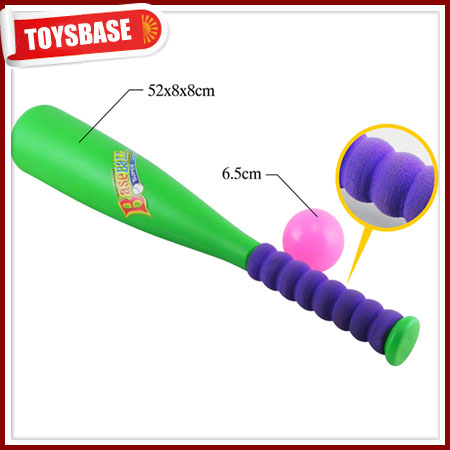 Plastic baseball bat