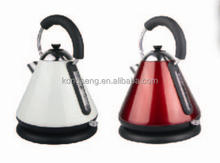 1.7L Cordless Pyramid kettle / Red & White Colour / High-Class Electric Kettle