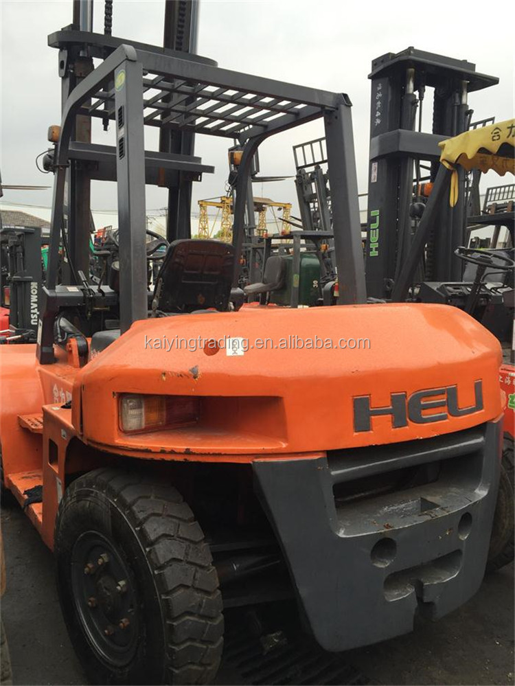6 Ton CPCD60 China Heli Forklift Used Forklift Battery , Good Condition and High Quality