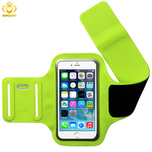 Sport Armband Case For iPhone 6 Plus, 5.5 inch Cell Mobile Phone Neoprene Arm Band for Running