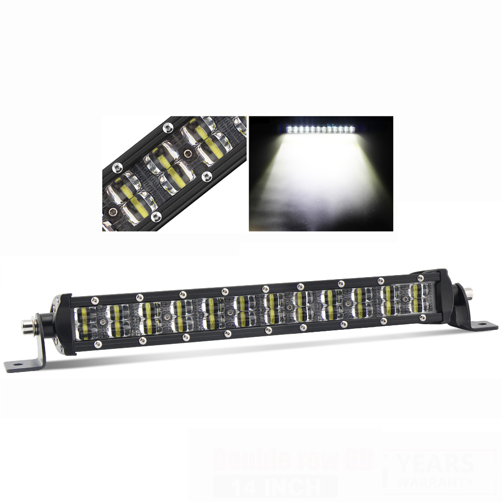 Wholesale Waterproof Jeep Offroad Double Row 8 inch 12 inch Led Driving Light Bar