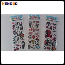 Most popular high quality home decoration fridge puffy sticker for wholesale