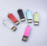 Hot selling Promotional Gift Plastic OTG USB 2.0 ,Swivel mini usb 3.0 flash drive/usb