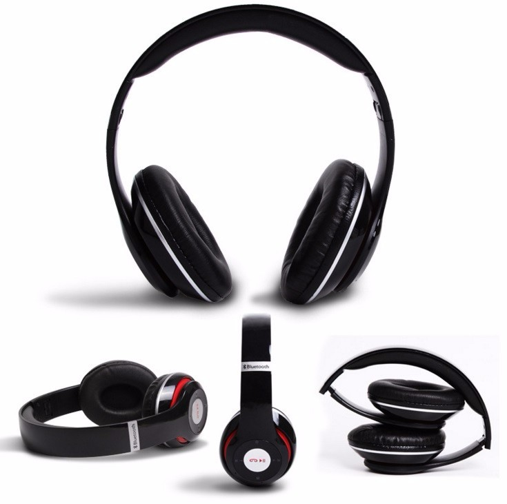 2016 wholesale stereo bluetooth headset bluetooth headphone without wire bu. Black Bedroom Furniture Sets. Home Design Ideas