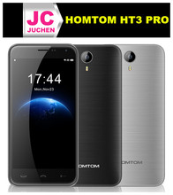 Wholesale dark gray mobile phone 4g 3g cdma gsm dual sim mobile phone homtom ht3 pro
