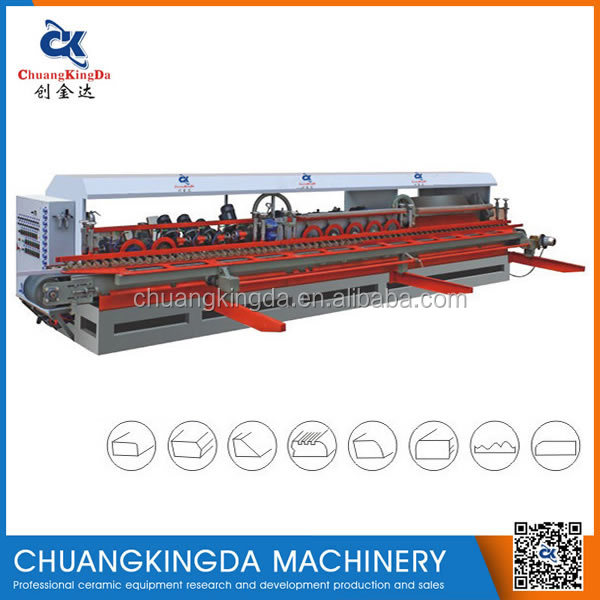 CKD-1200F Automatic ceramic tile squaring chamfering machinery