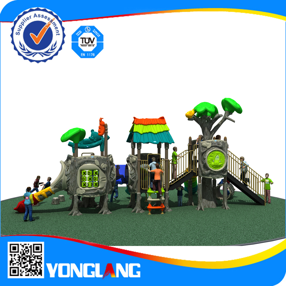 water playground slide amusement park outdoor plastic playground equipment