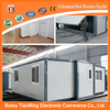 Environmental Friendly Lowcost Retail underground folding container houses for sale