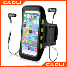 New LED Light Sport Running Arm Sports Armband Case for iPhone 6 6s Plus Arm Band Holder Brassard Running