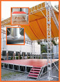 Aluminum Stage With Roof Truss Type For Outdoor Ceremony Show