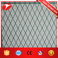 Highway Isolation Protection military welded wire mesh fencing