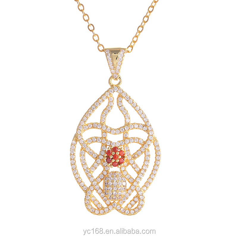 fine gold mangalsutra designs cz micro pave pendant for jewelry making