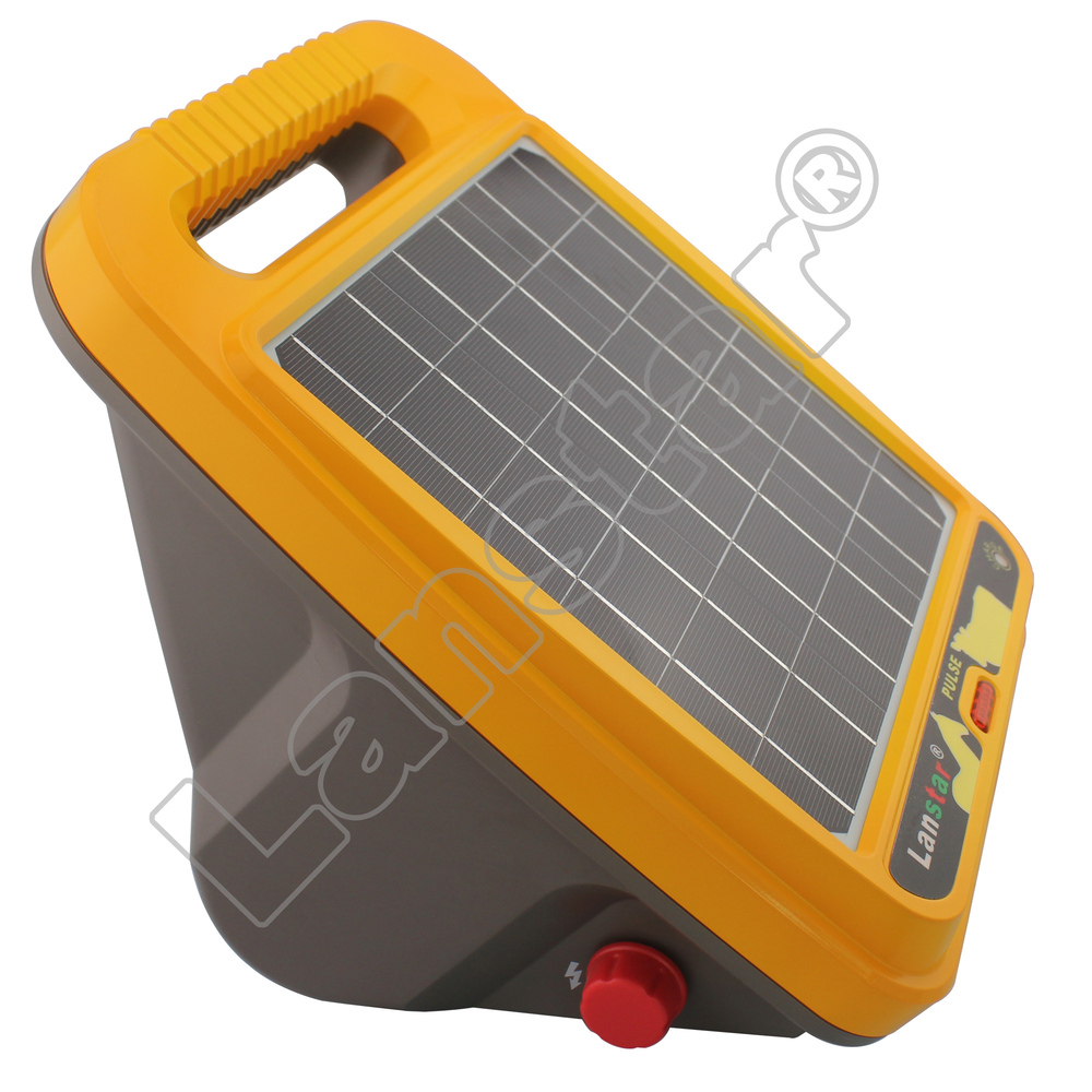 0.4J solar panel sheep fencing energizer/charger for farm fencing equipment