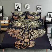 3d Printing Elephant Comforter Wholesale Modern Cotton Quality Duvet Bed Sheets Quilts Bedding Set For Kids