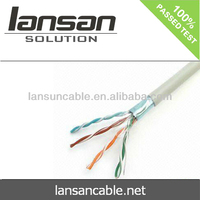 UTP/FTP/SFTP cat5e BC/CCA/CCS lan line 305m/box (CE,UL,ISO,RoHS)