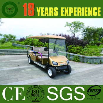 China OEM manufacturers 6 seater Electric Golf Car /electric beach cart/golf cart transmission