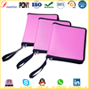 Stationery PP export goods polypropylene zipper file plastic file folder a4 file