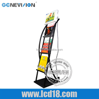 HOT! Android LCD Advertising Media Stand Kiosk for subway/commercial/buildings/restaurants with 3G/Wifi (MAD-121)