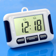 12/24 Hours Multi Alarm Clock 5 Groups Noisy Bell Kitchen count down timer