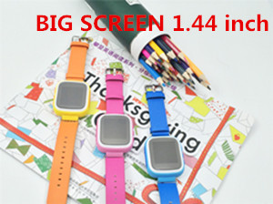 Q80 colorful full screen GPS Tracker Kids Smart watch phone Anti Lost