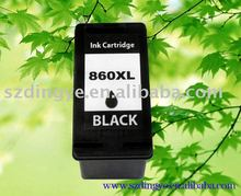 Brilliant printing effect compatible cartridge for hp860xl/861xl