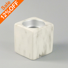 Square Candle Holder, Factory Price Marble Candle Holder Antique