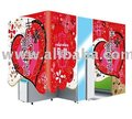 Red Glamour-Purikura Booth | Photo Sticker Machine