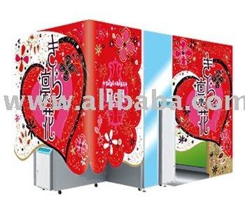 photo booth sticker machine