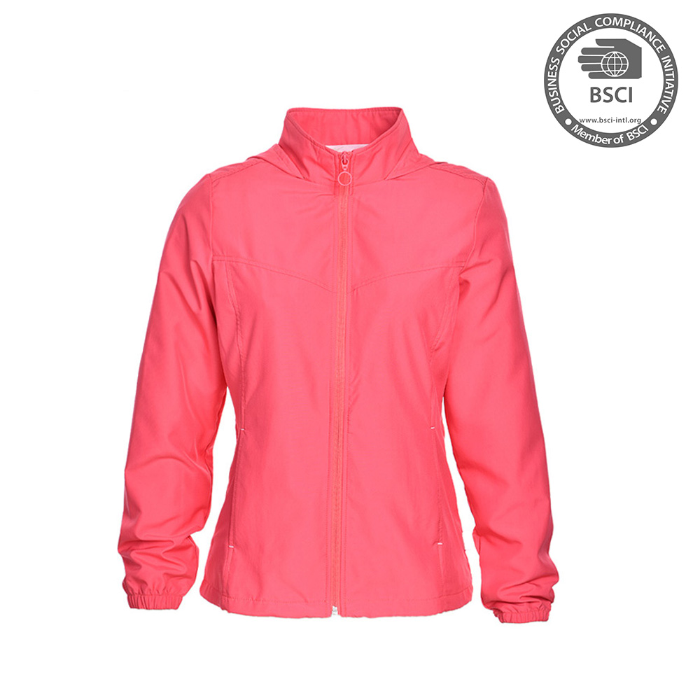 2017 New Women Sexy Sport Wear Running Jacket With Hood For Adults Women